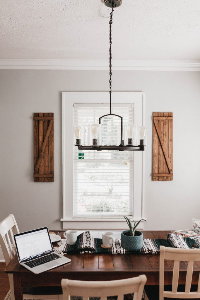 Cozy country dining room, Home